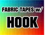 Fabric Tapes w/ Hook