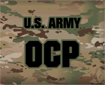 Army OCP Name Tapes